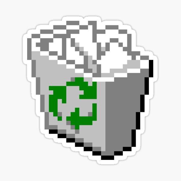 Windows 95 Recycle Bin Sticker