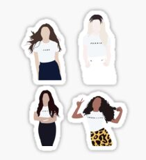 little mix in colour (group) Sticker