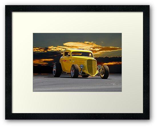 1934 Ford HiBoy 'Lemon Zinger' Coupe by DaveKoontz