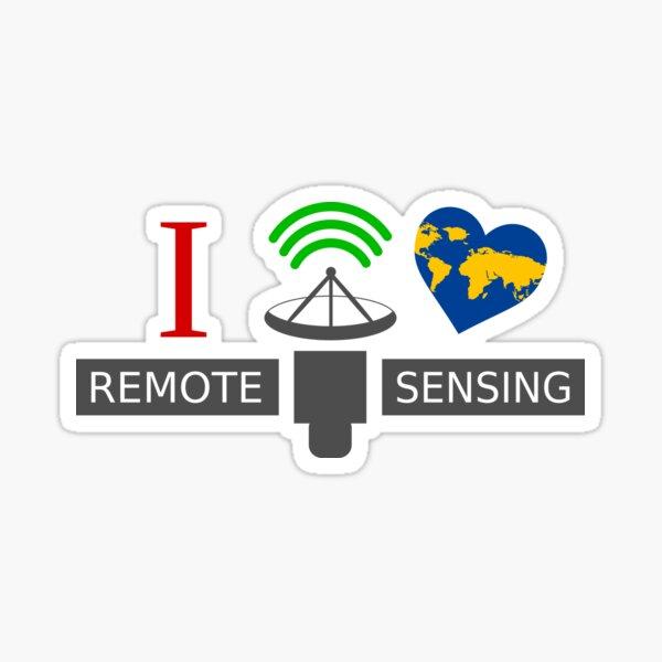 I Love Remote Sensing Sticker