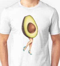 Fruit Stand - Avocado Girl Unisex T-Shirt