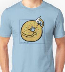 Sesame Bagel :: Carnivorous Foods Series Unisex T-Shirt