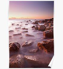 Coastline Ocean - South Australia Poster