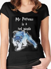 My Patronus is a Red Panda Women's Fitted Scoop T-Shirt