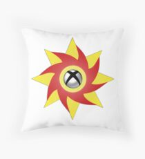 Weeping on One P/B - White Throw Pillow