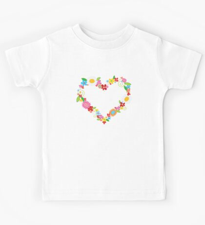 Whimsical Spring Flowers Power Garden Kids Clothes