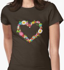 Whimsical Spring Flowers Power Garden T-Shirt