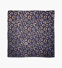 Kupfer und Leopard Tuch