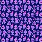 Ghost Pokemon Pattern by knightofbunnies