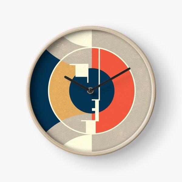 Bauhaus Exhibition Art 3 Clock