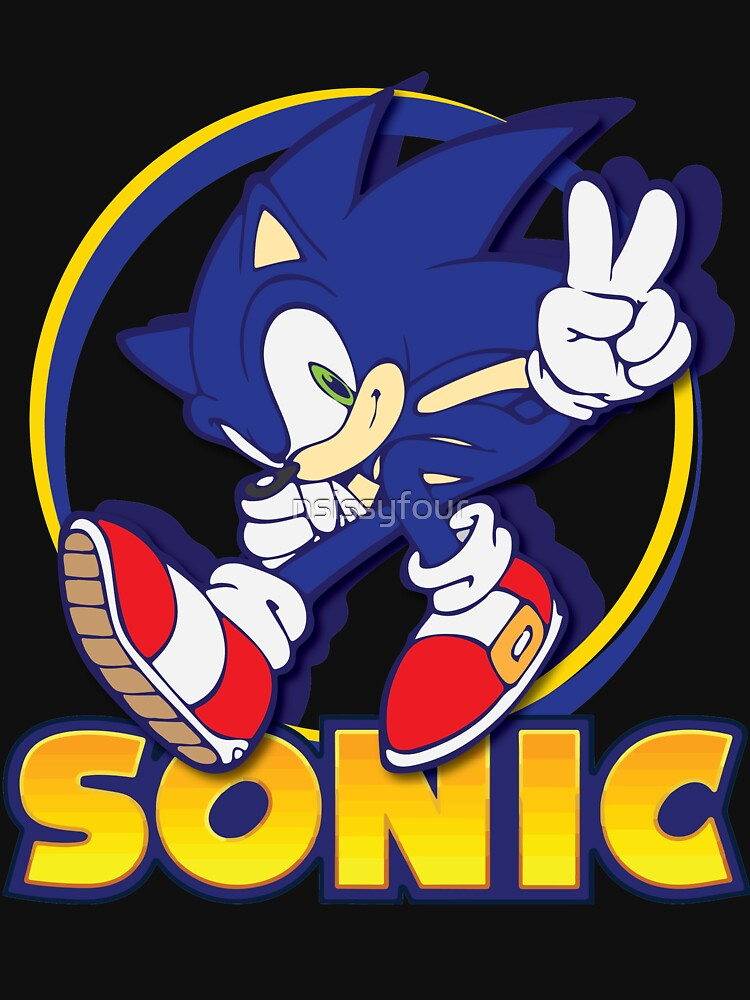 Sonic The Hedgehog Unisex T Shirt A T Shirt Of Shadow Sonic Amy Tails Knuckles Sega Sonic The Hedgehog Gotta Go Fast Sonic And Tails Sonic Adventure Sonic Adventure 2 And Blue Blur