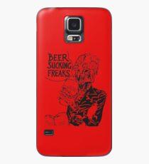 Beer Sucking Freaks (black) Case/Skin for Samsung Galaxy