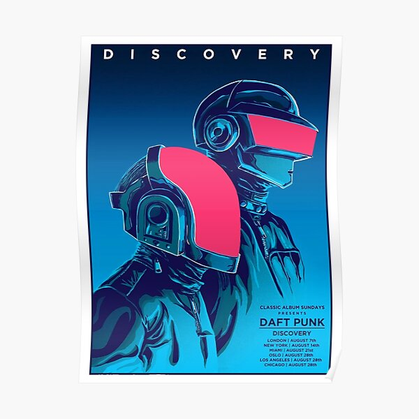 Daft Punk Discovery Poster