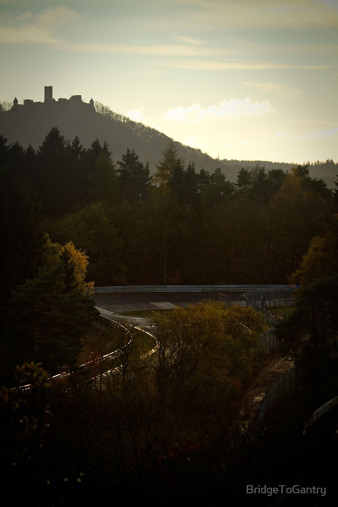 Karussell to Castle: Nürburgring by BridgeToGantry