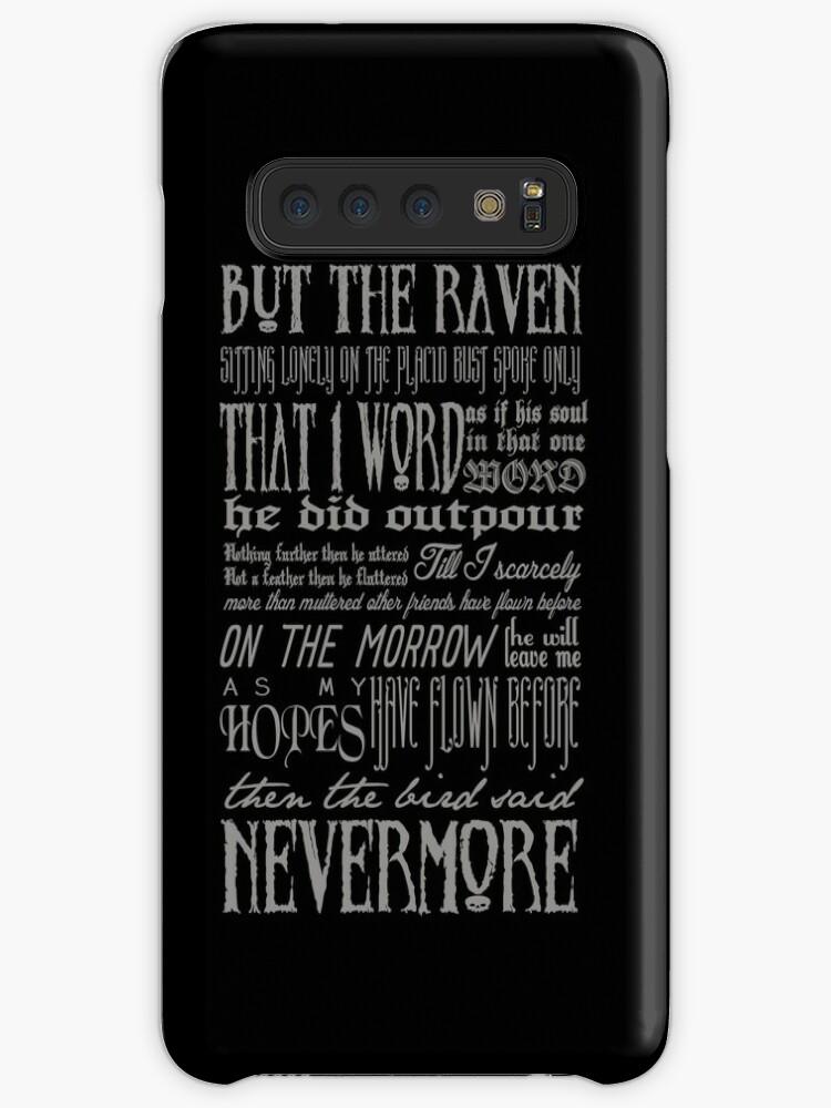 Edgar Allan Poe RAVEN Typografie von themoderngeek