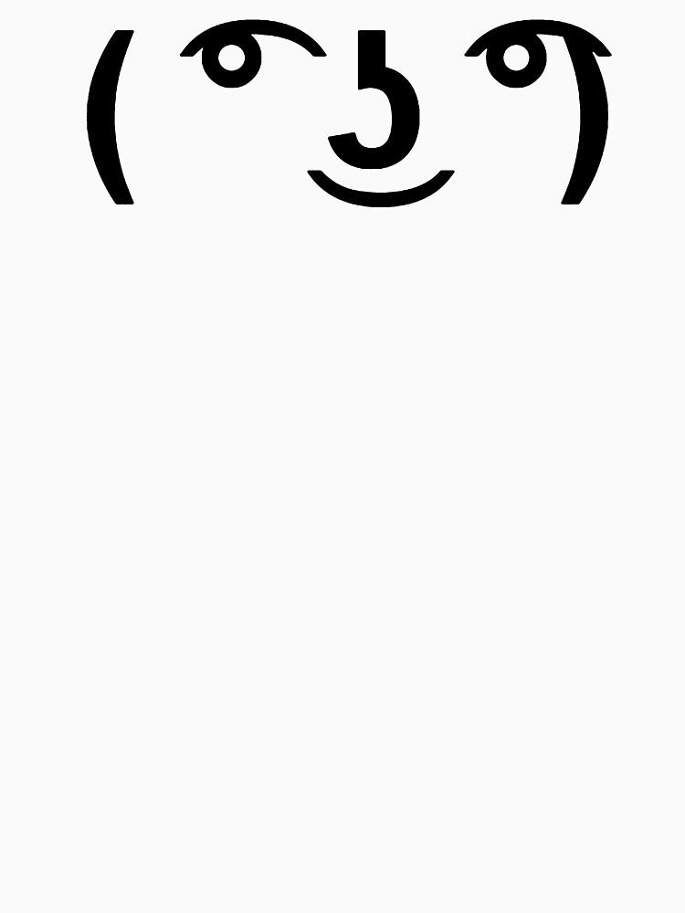 Lenny Face by howardelcano