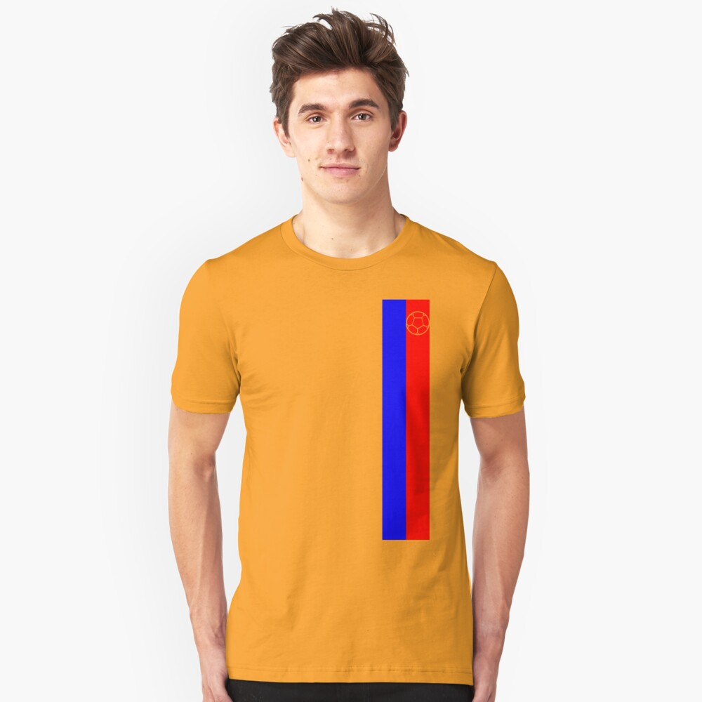 Colombia 2016 Unisex T-Shirt Front