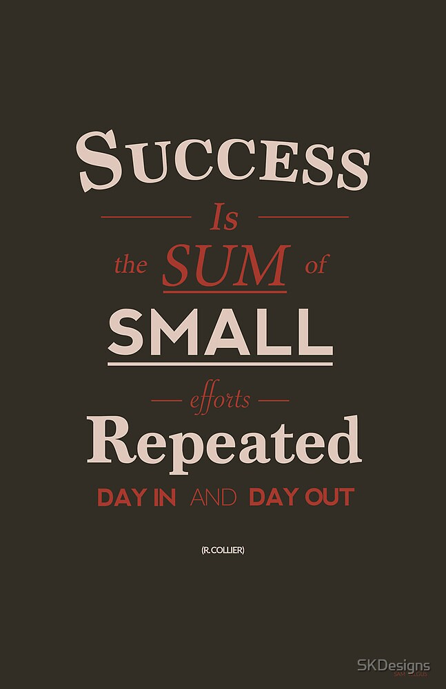 Success Quote by SKDesigns