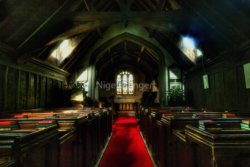 Greensted Church by Nigel Bangert