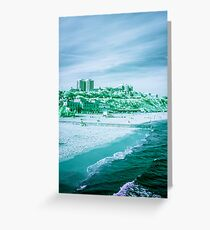Infra-Red Beach  Greeting Card