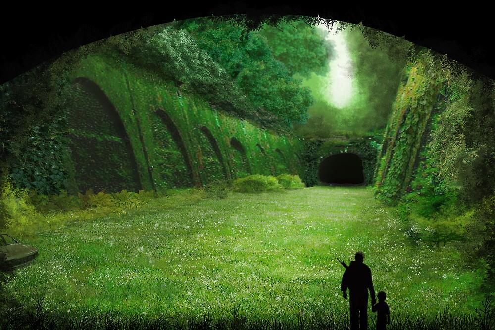 Garden Tunnel by JoshuaDunlop