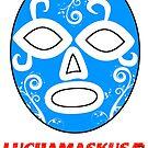 Sueño Azul ~ Head by luchamaskusa