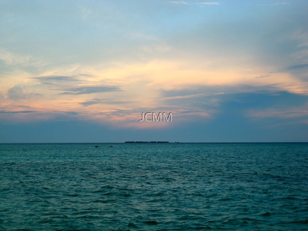 Sipadan, Phillipines, Sunset by JCMM