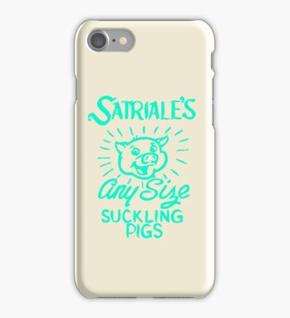 Satriale's - Any Size Suckling Pigs iPhone Case/Skin