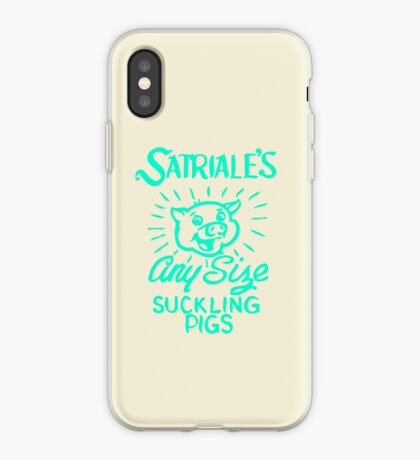 Satriale's - Any Size Suckling Pigs iPhone Case