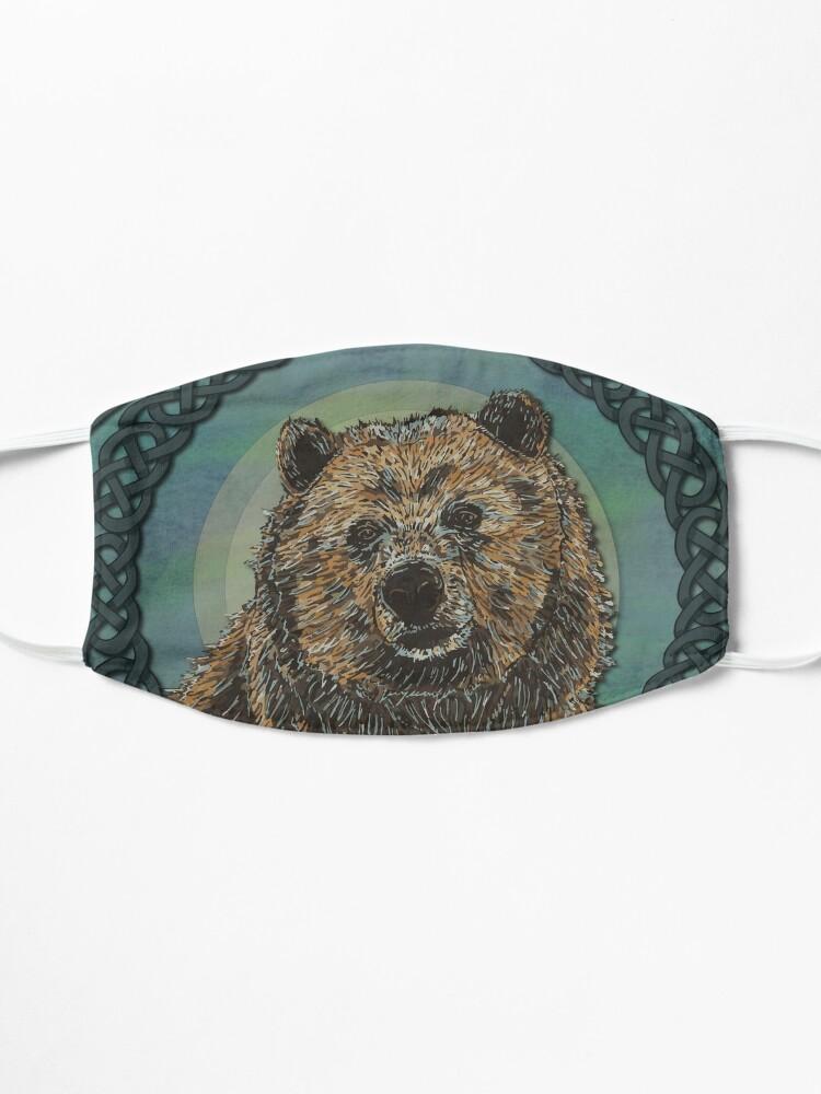 Alternate view of Brown Bear Mask