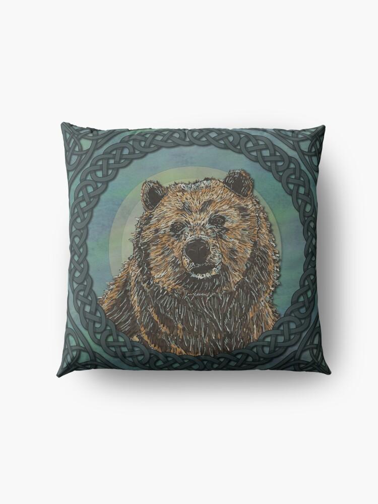 Alternate view of Brown Bear Floor Pillow