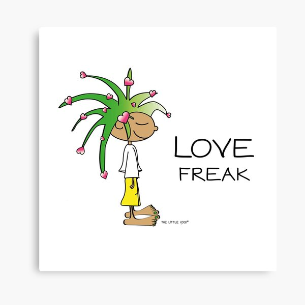 Love Freak Canvas Print