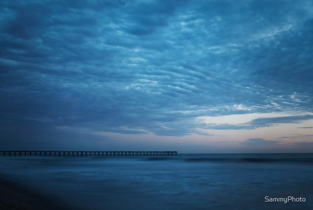 Moody Blue, Beach, Photography, Sunset, California by SammyPhoto