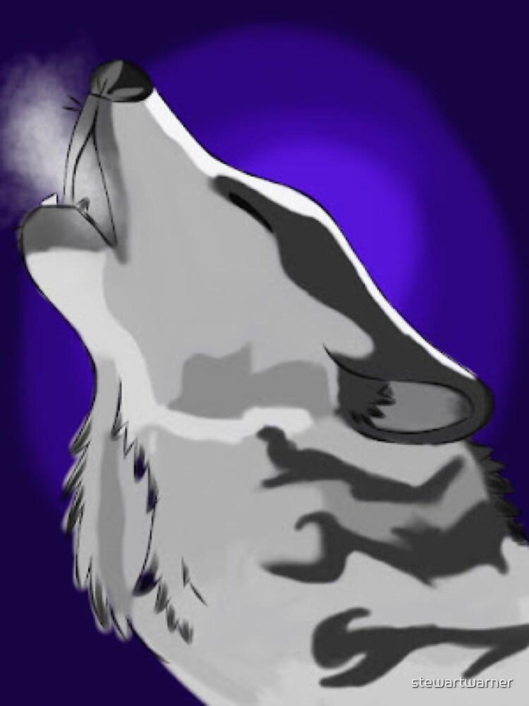 Howling Wolf by stewartwarner
