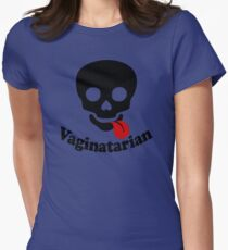 Vaginatarian Womens Fitted T-Shirt