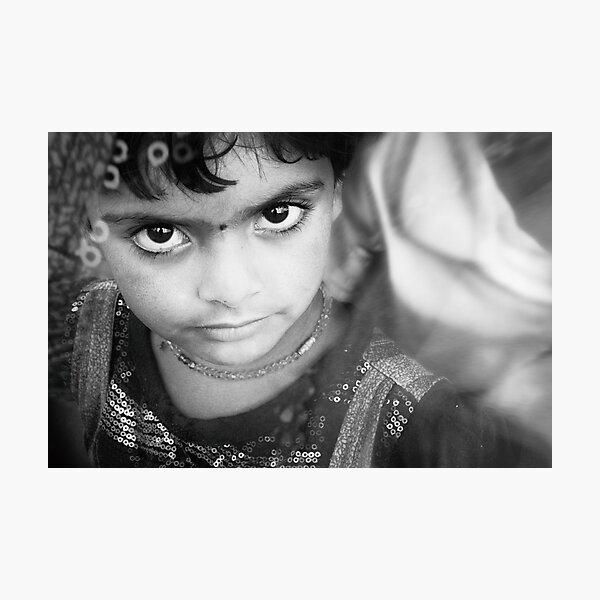 child of india Photographic Print