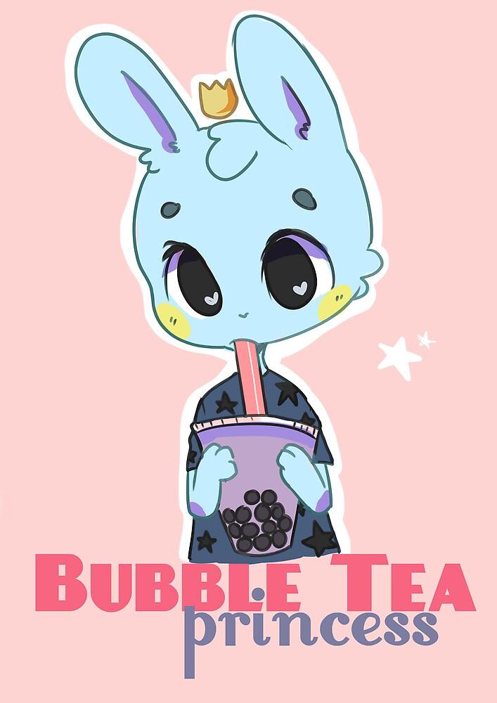 Bubble Tea Princess by galacticstar