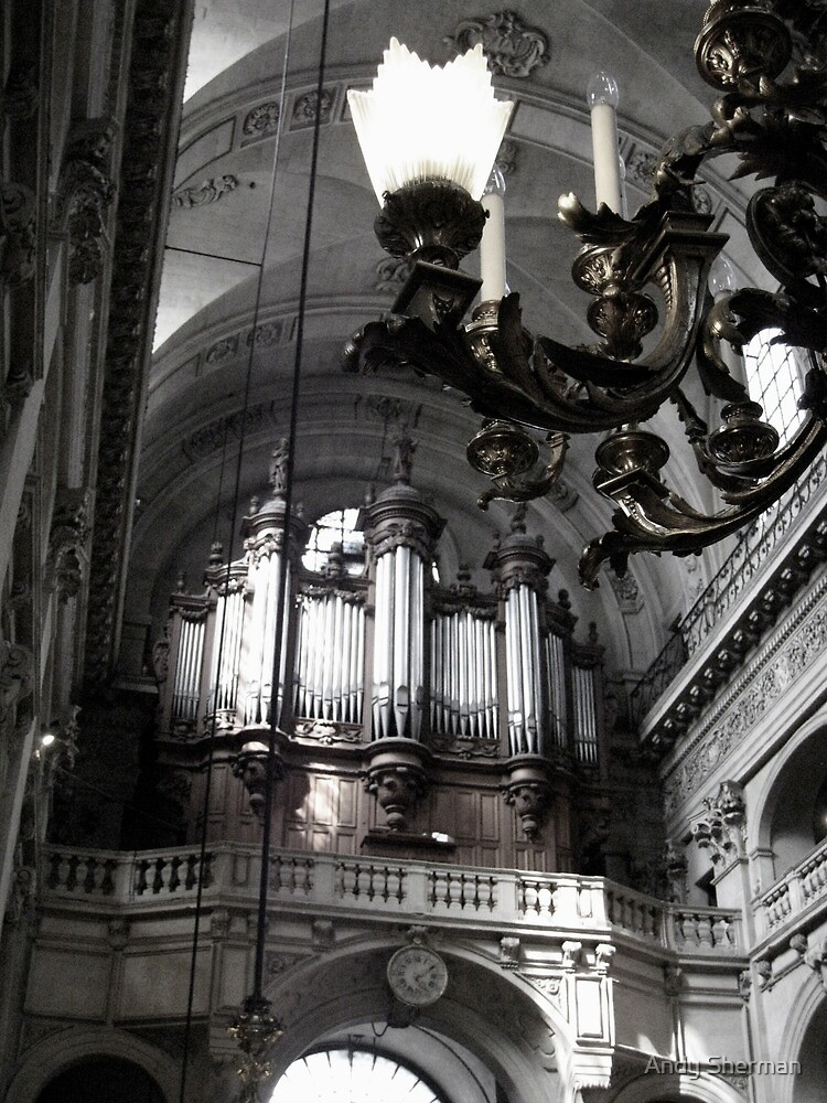 St. Paul's Organ by Andy Sherman