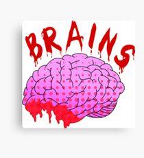 Bloody Brains - Light Canvas Print