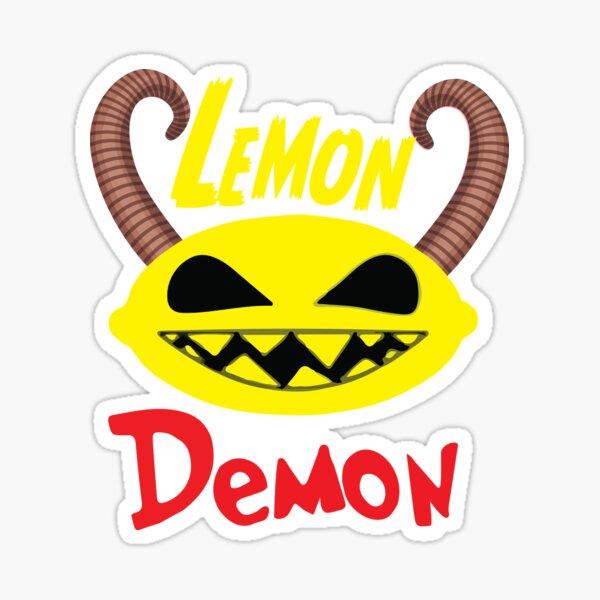 Lemon demon Sticker