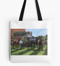 Across the Parade Ring, July Course, Newmarket Tote Bag