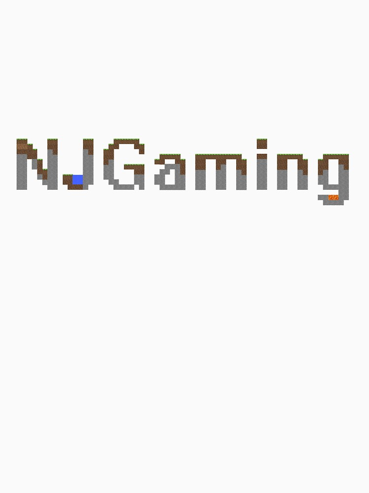 NJGaming Minecraft Title Shirt by TheNJGamingShow