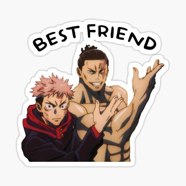 """Jujutsu Kaisen """"Best Friend"""" Sticker"""
