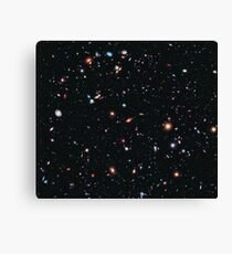 Hubble Extreme Deep Field Image of Outer Space Canvas Print