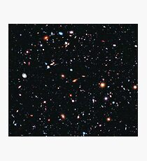 Hubble Extreme Deep Field Image of Outer Space Photographic Print