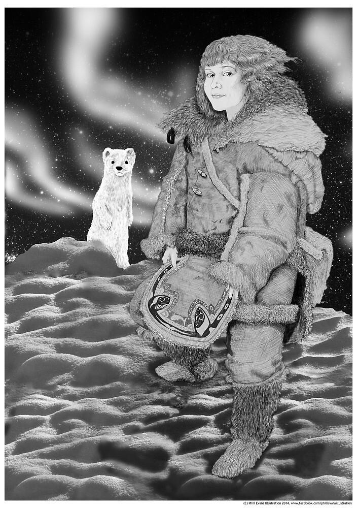 Lyra Belacqua by Phillip Evans