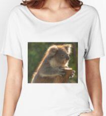 0252 Young Koala Women's Relaxed Fit T-Shirt