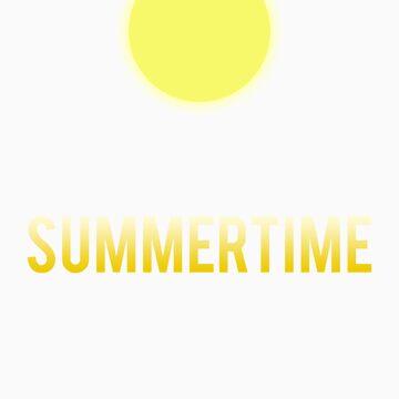 """""""Summertime"""" design shirt by jayman1998"""