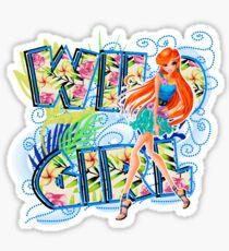 Wild Girl Bleu - Bloom Sticker