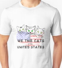 We The Cats Of The United States T-Shirt